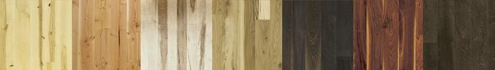 Ukázky vzhledu dřevěných podlah